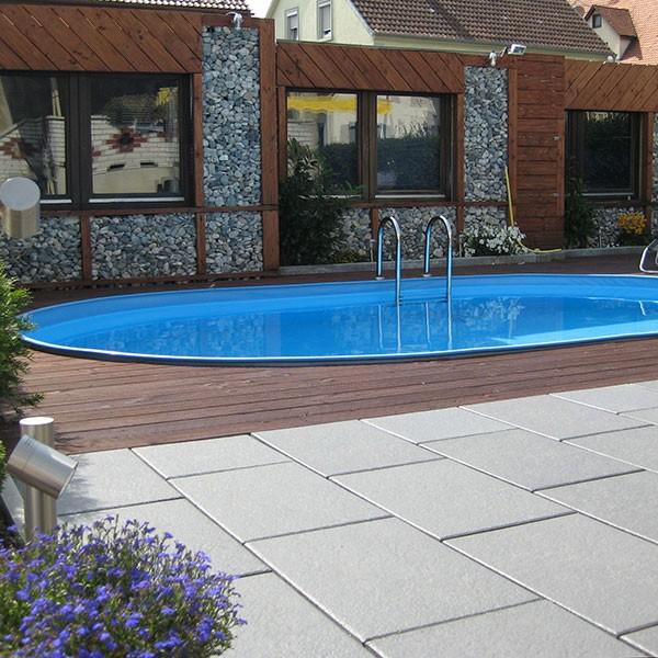 Pool oval Visionzon 5,40 x 3,60 x 1,44m