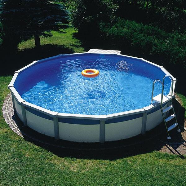 Schwimmbecken Megazon 3,60 x 1,32m mit 15cm breitem Handlauf