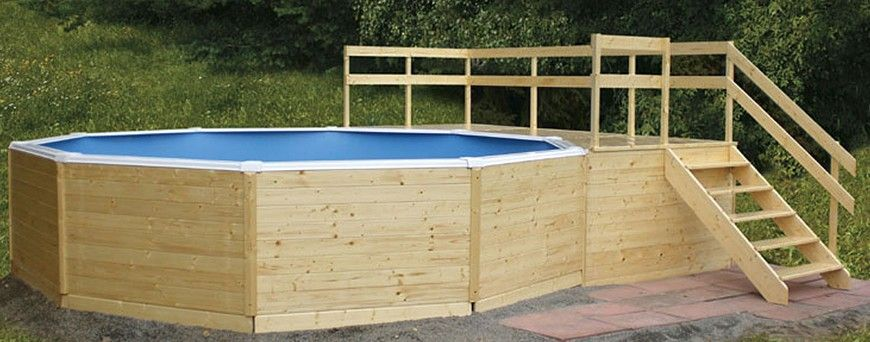 holzpool gartenpools poolpoint. Black Bedroom Furniture Sets. Home Design Ideas