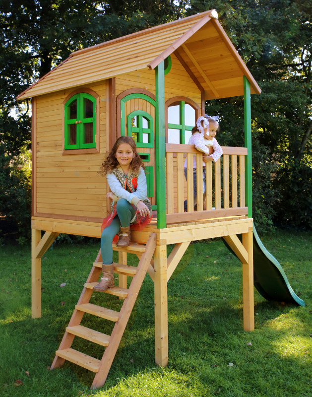 holzspielhaus laura f r 999 88. Black Bedroom Furniture Sets. Home Design Ideas