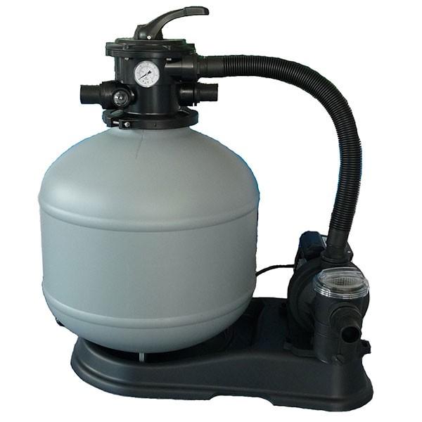 Sandfilter Blazer de Luxe bis 50m³ Pumpe Aqua plus 8