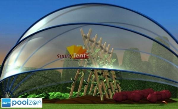 Sunnytent Solar-Poolabdeckung 4,42 x 2,21m