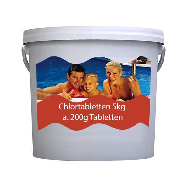 Chlortabletten org. 5 kg, 200g